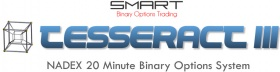 TESSERACT3 NADEX 20 Minute Binary Options System