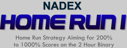 NADEX Home Run I Home Strategy