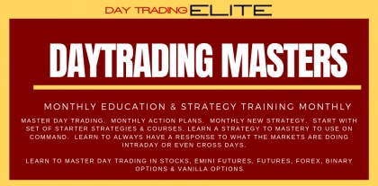Day Trading ELITE - Day Trading MASTERS Program