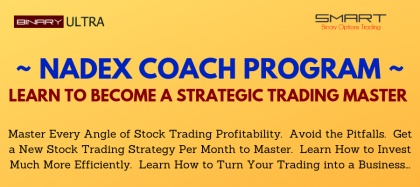 NADEX COACH - Learn to Strategically Trade NADEX More and More Month by Month