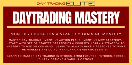 Day Trading ELITE - Day Trading MASTERY Program